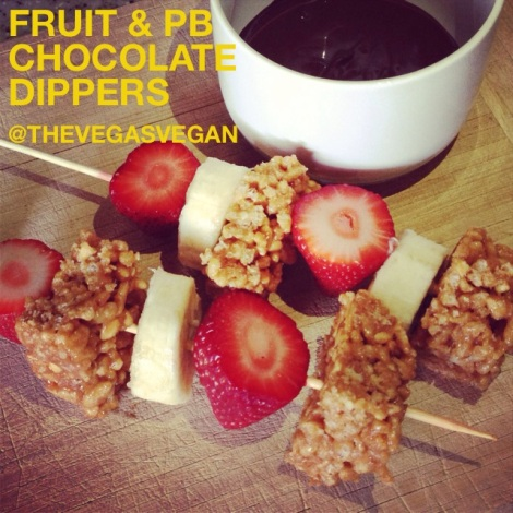 Fruit & PB Chocolate Dippers2