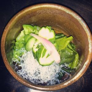 Raku Cucumber Salad