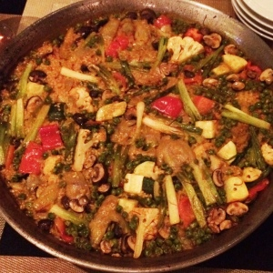 vegetable-paella